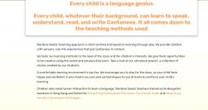 Transcreating an SEO website into English